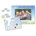 40 Words Message Magnet w/ Picture Frame - .020 Thickness